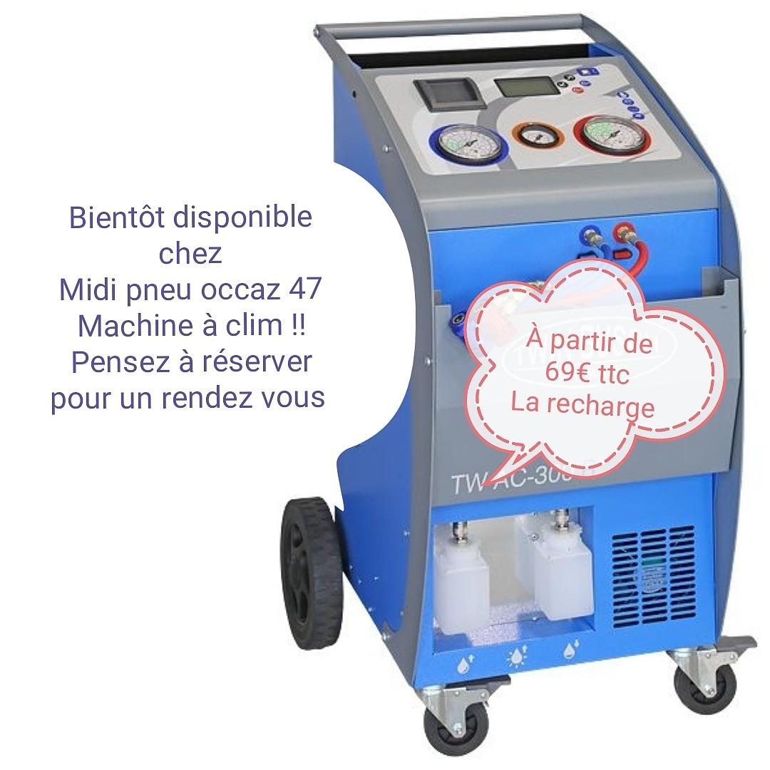 Climatisation Midi Pneu Occaz garage